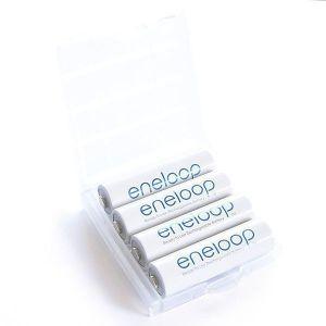 RCPlanet osta 4 AA Eneloop in case - kehas - 1900mAh Eestis