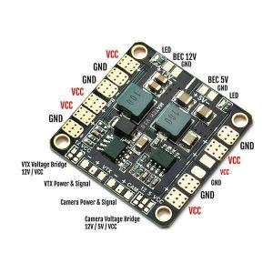 RCPlanet osta Matek systems MINI POWER PDB HUB W/ BEC 5V & 12V Hobipood Estonia