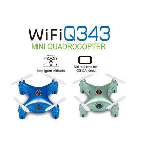 RCPlanet osta WLtoys Q343 WiFi Mini Juhitav droon RTF Ainuke droonide pood Eestis