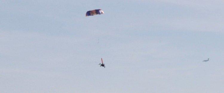 Langevarjud Indemnis Nexus DJI drooneil lubati lennata üle inimrühmade