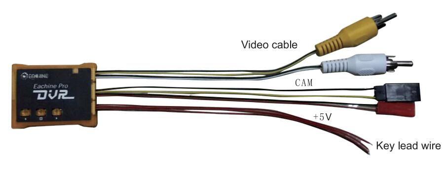 RCPlanet osta Eachine Pro DVR Mini-video helisalvestus FPV Drooni seadme FPV pood Eestis