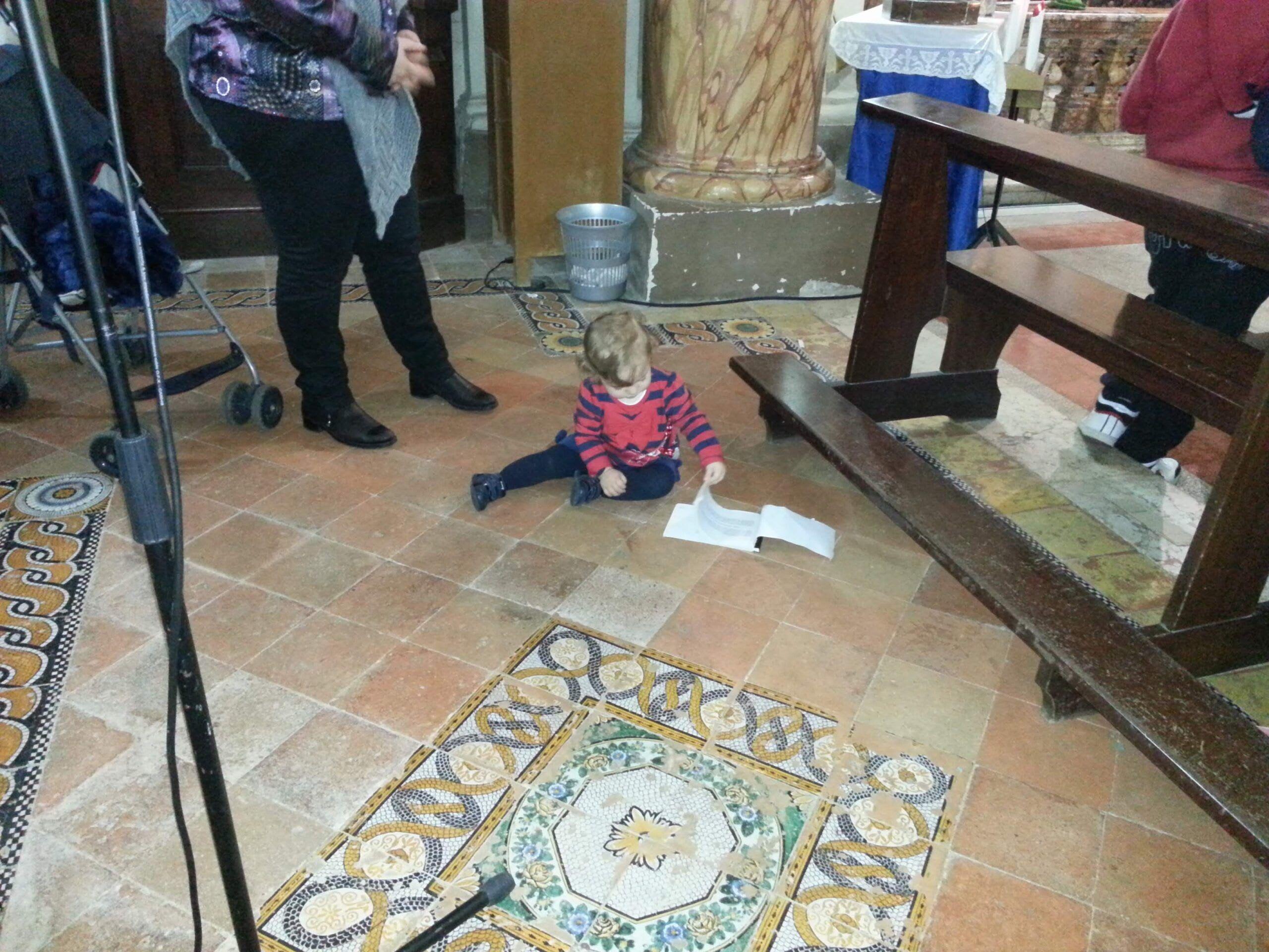 Francesca in parrocchia