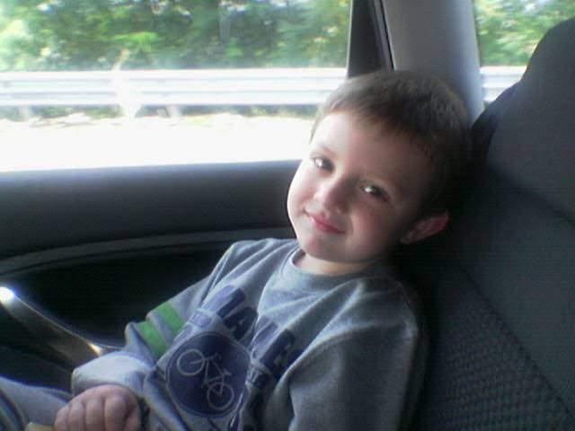 dolce Eugenio piccolo in auto