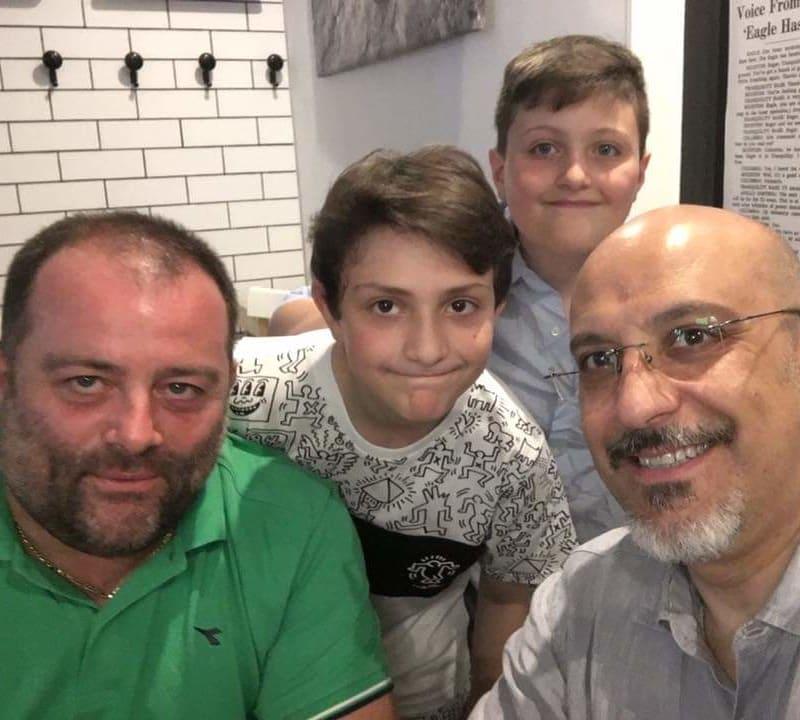 Eugenio, Nicola, Peppino e Remigio