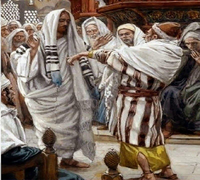 Gesù tendi la mano