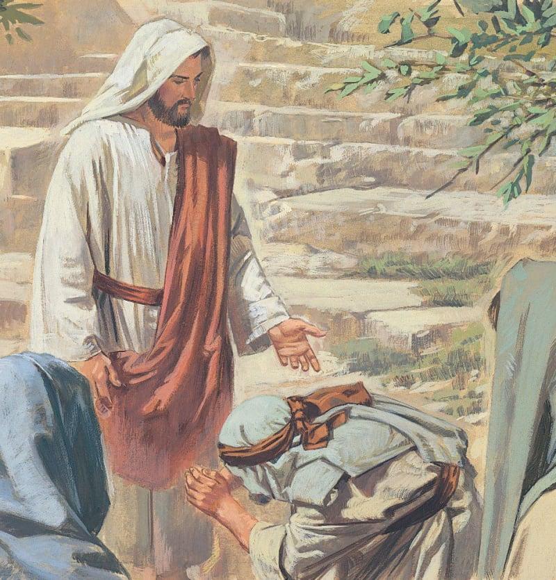 Gesù e il lebbroso