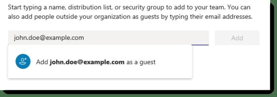 Add a guest
