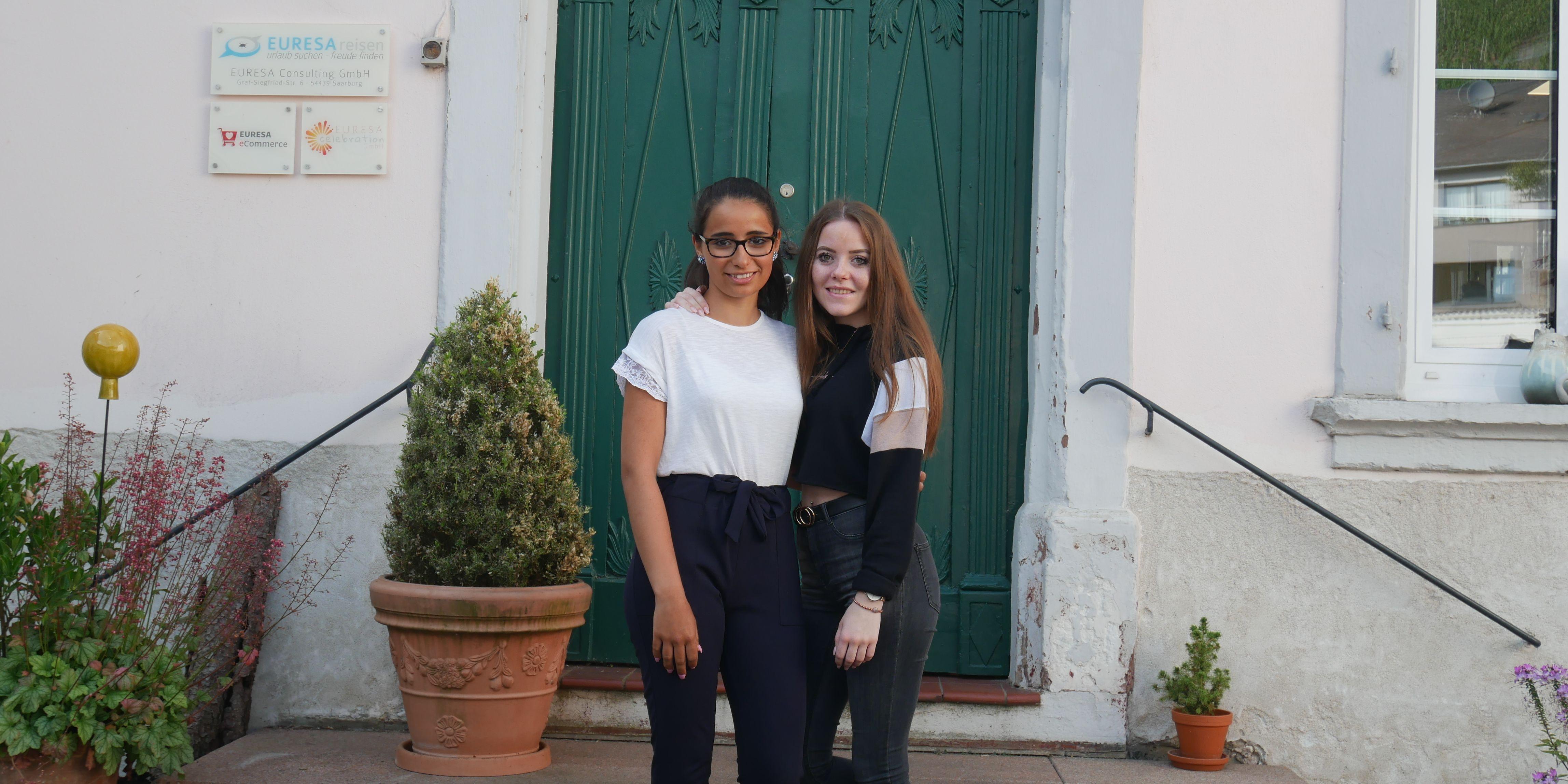 Aicha und Svenja