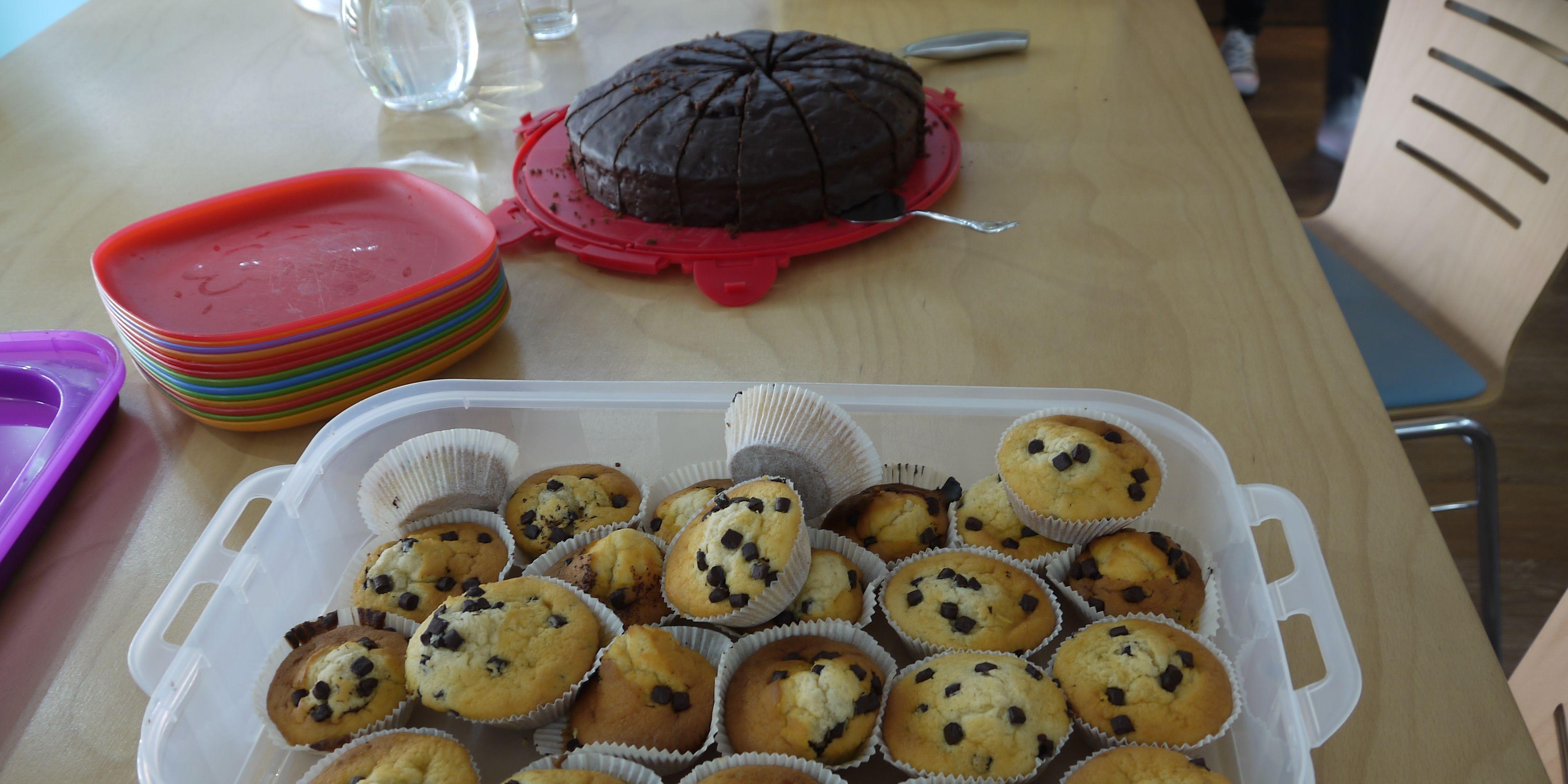 Muffins und Kuchen
