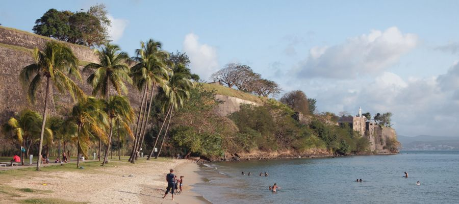 Impression von Fort-de-France (Martinique)