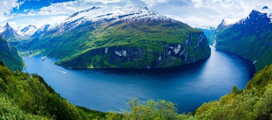 Impression von Geirangerfjord