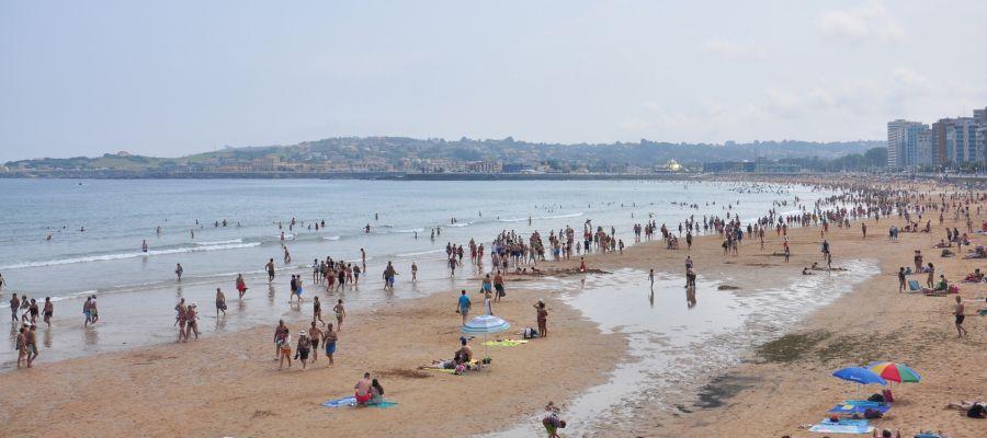 Impression von Gijón