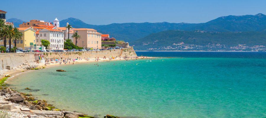 Impression von Ajaccio (Korsika)
