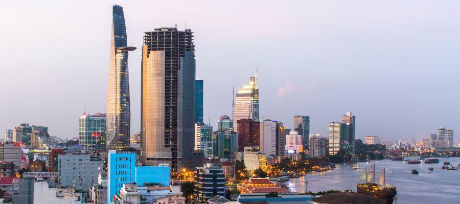 Impression von Ho-Chi-Minh Stadt