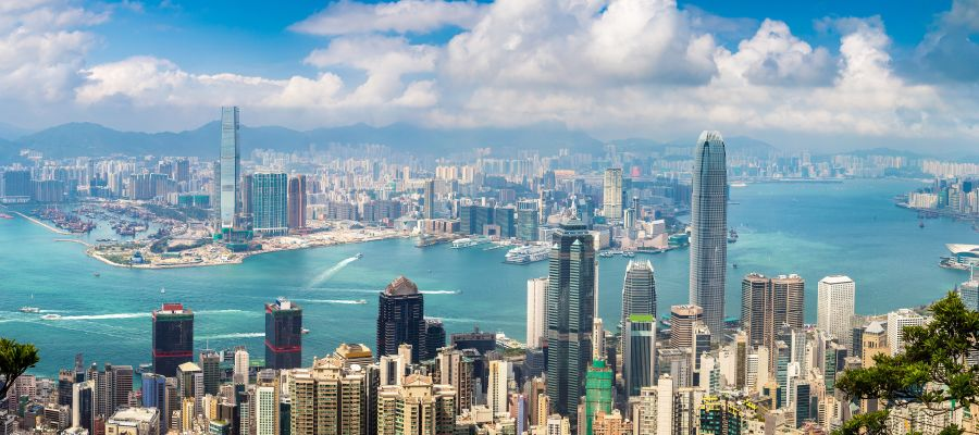 Impression von Hongkong