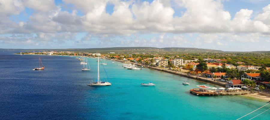 Impression von Kralendijk (Bonaire)