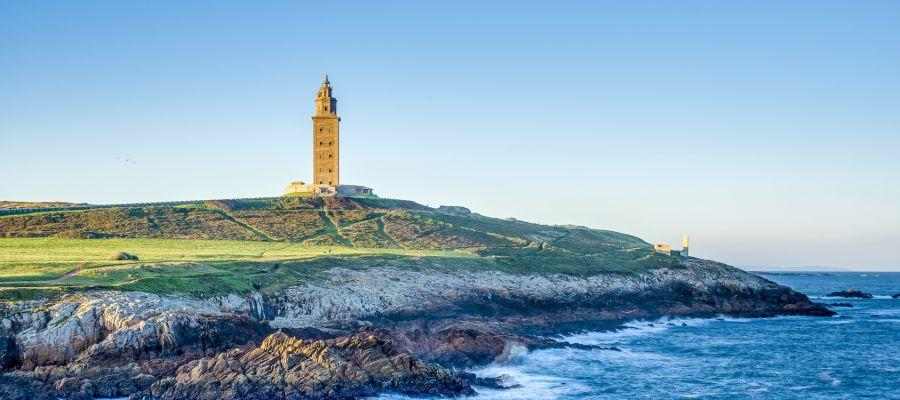 Impression von La Coruña