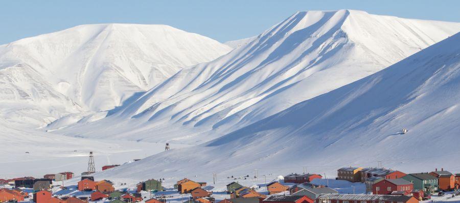 Impression von Longyearbyen