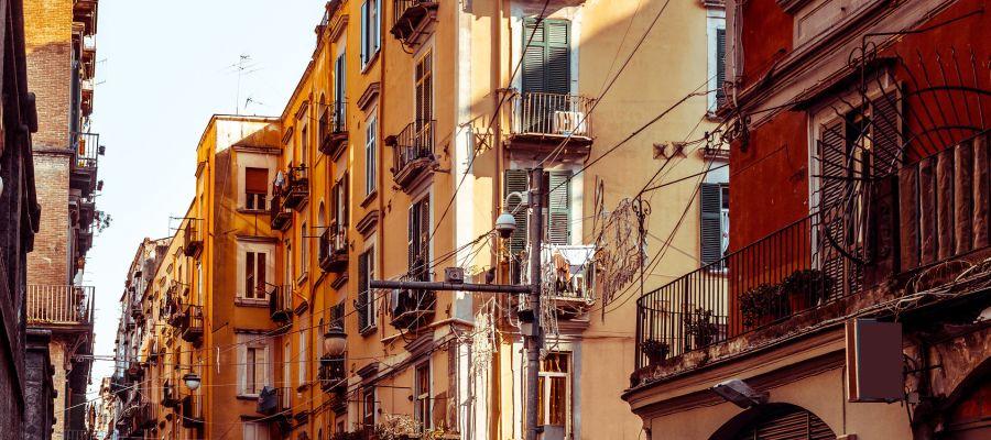 Impression von Neapel