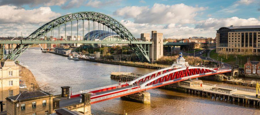 Impression von Newcastle upon Tyne