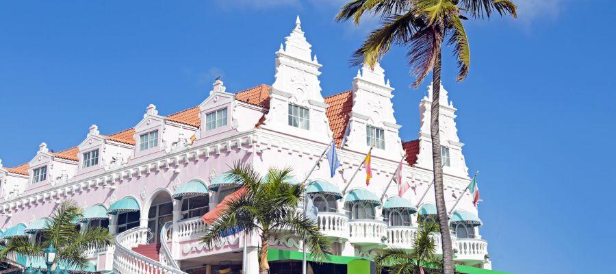 Impression von Oranjestad (Aruba)