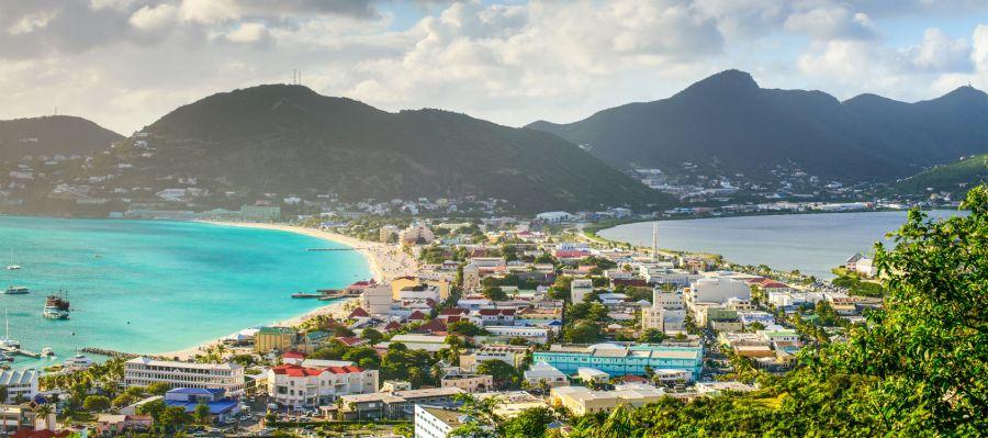 Impression von Philipsburg (St. Maarten)