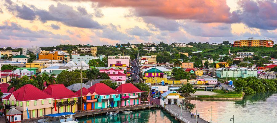 Impression von St. John's (Antigua)