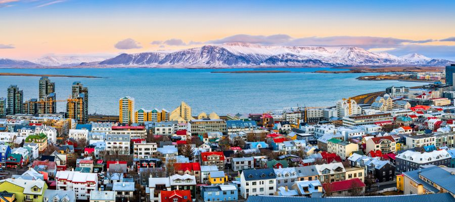 Impression von Reykjavík