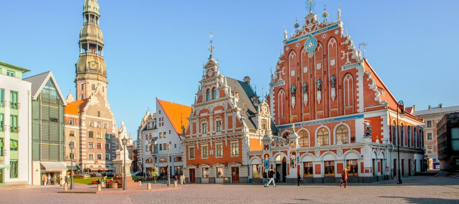 Impression von Riga
