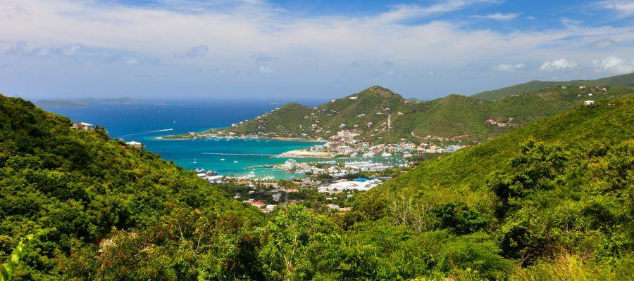 Impression von Road Town (Tortola)
