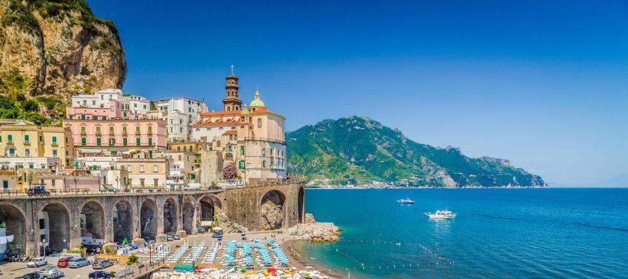 Impression von Salerno