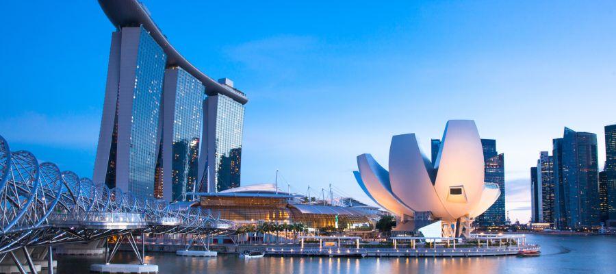 Impression von Singapur