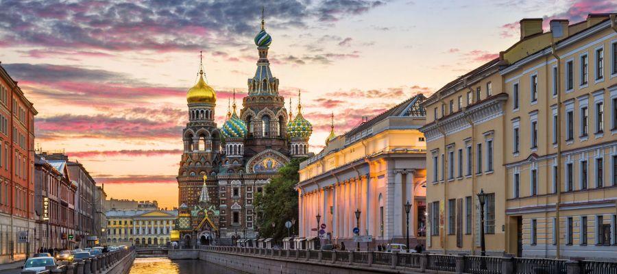 Impression von St. Petersburg