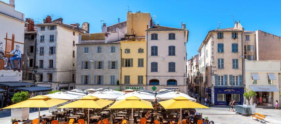 Impression von Toulon