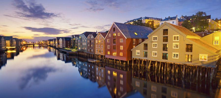 Impression von Trondheim