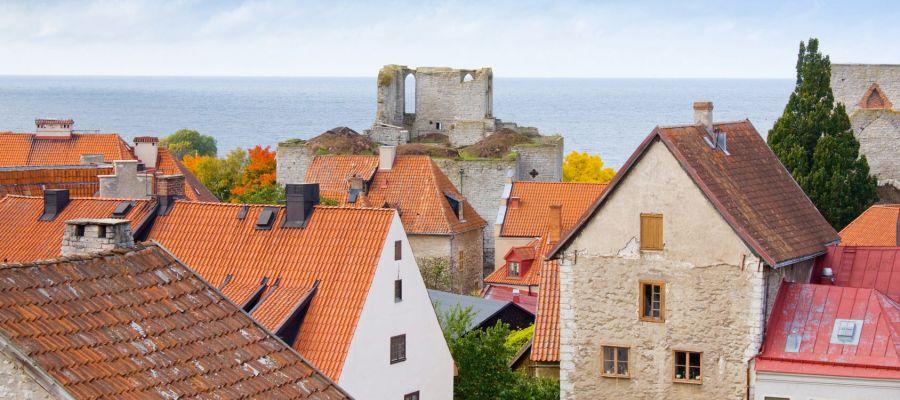 Impression von Visby