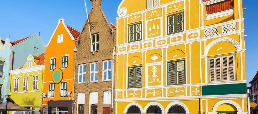 Impression von Willemstad (Curacao)