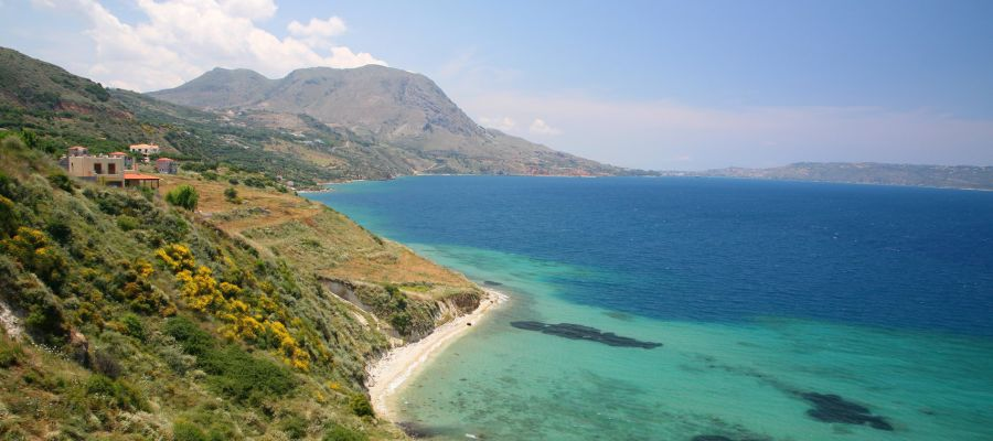 Impression von Souda Bay (Kreta)