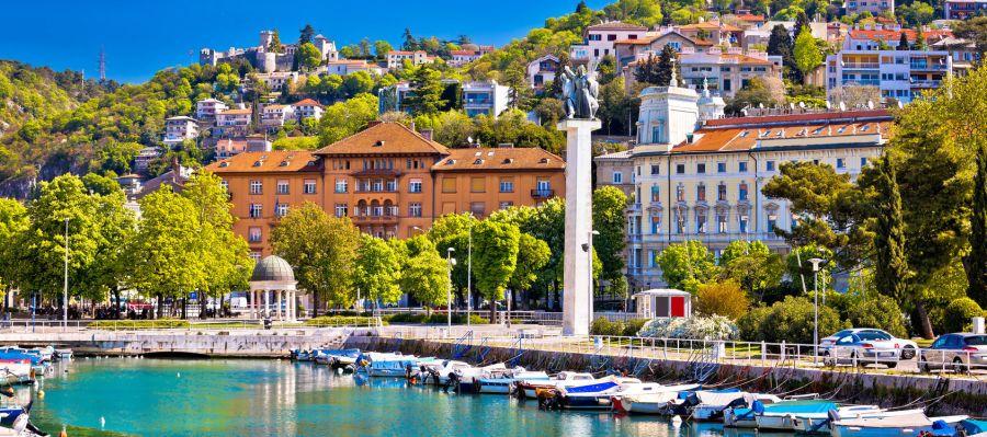 Impression von Rijeka