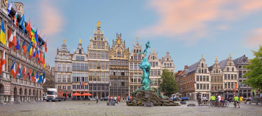 Impression von Antwerpen