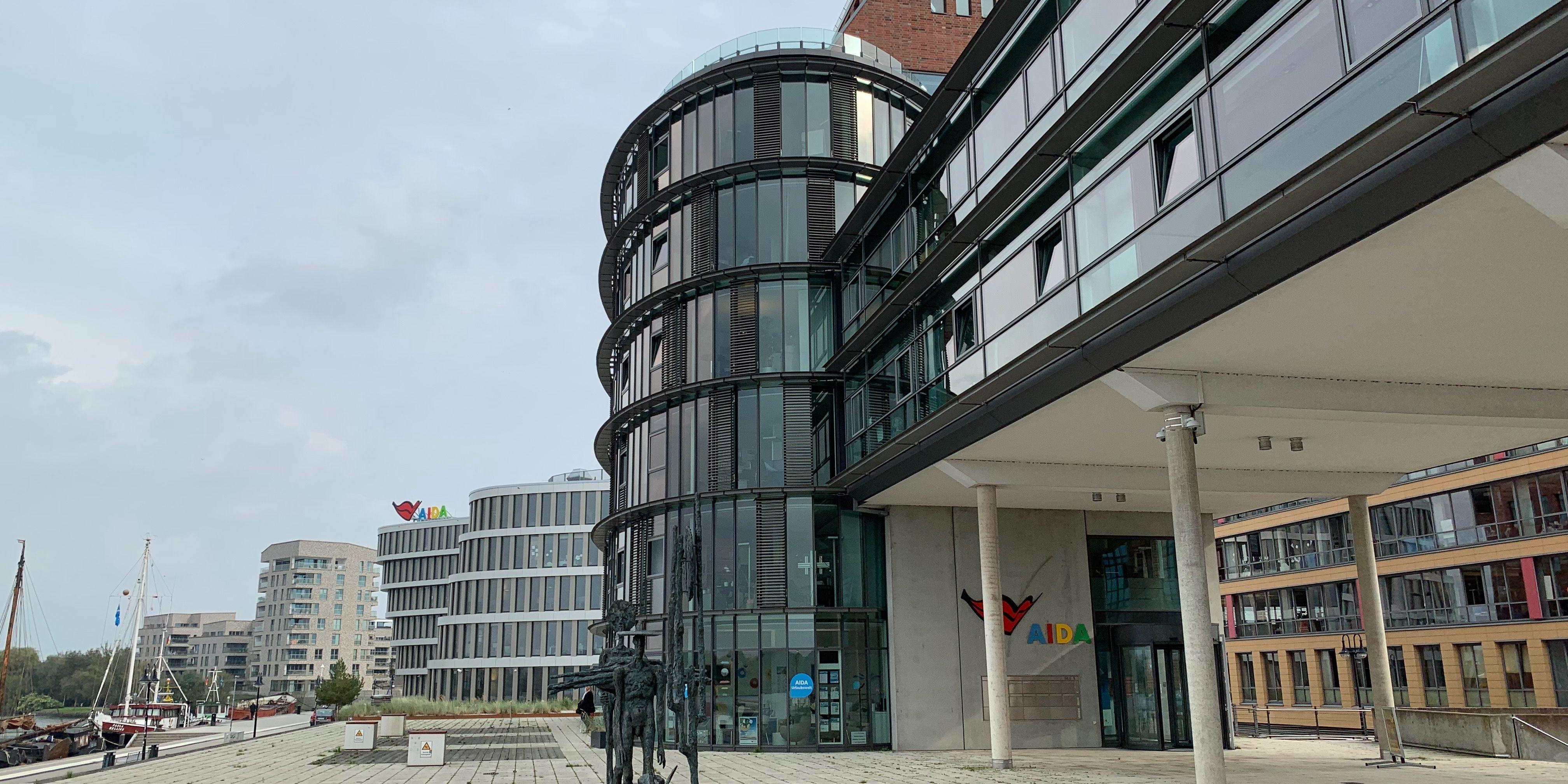 AIDA Gebäude in Rostock