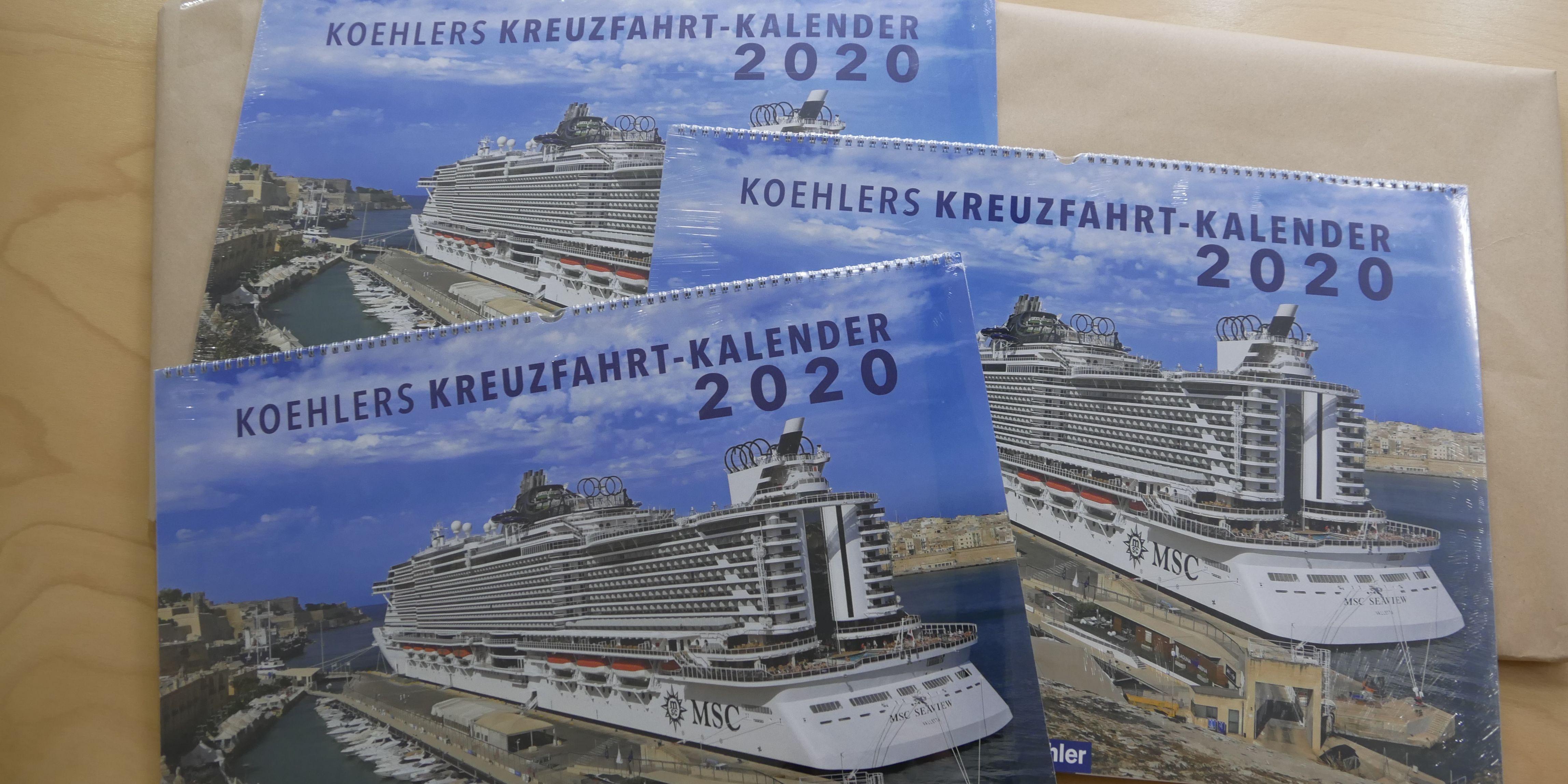 Kreuzfahrt-Kalender