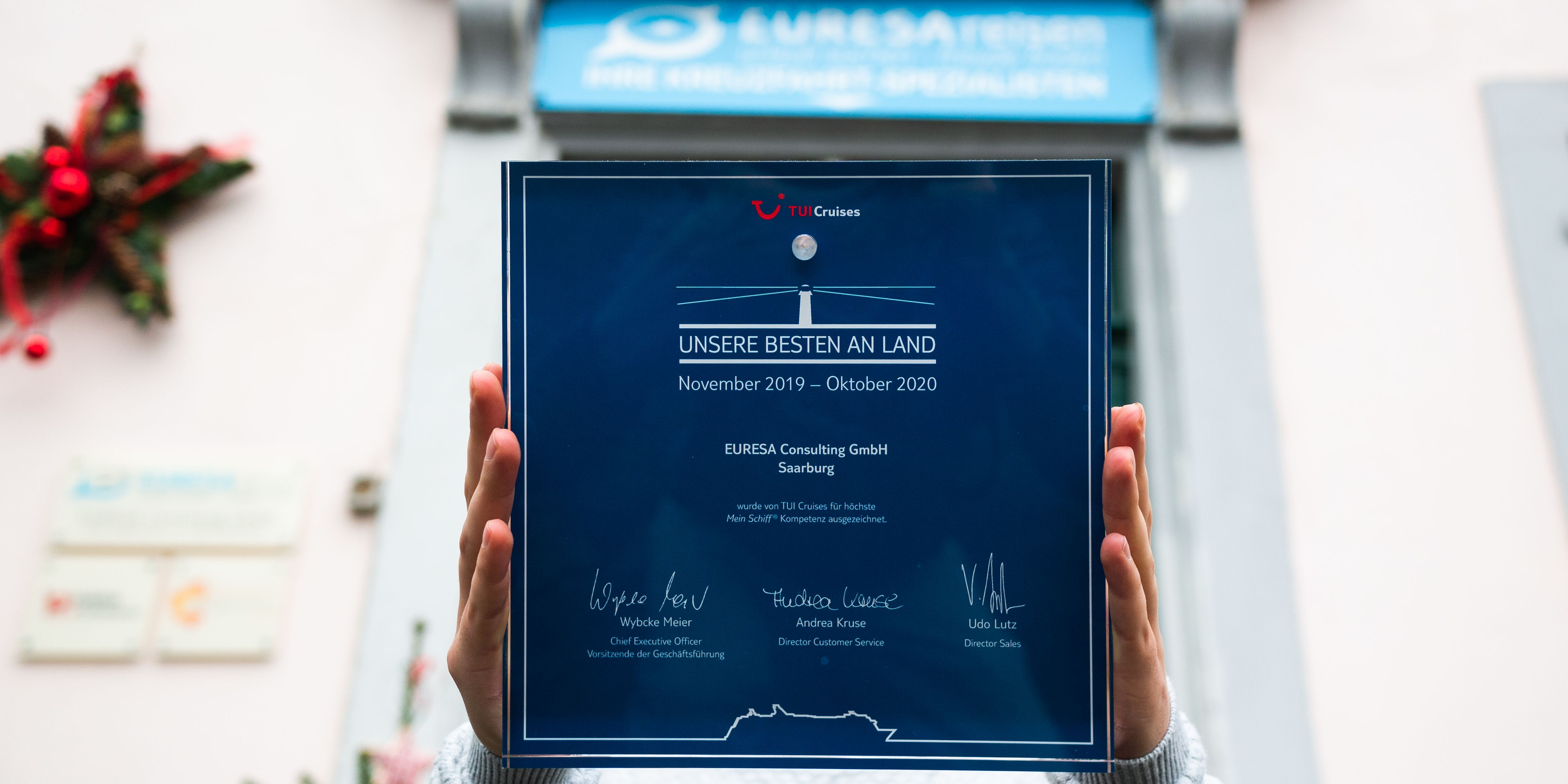 Auszeichnung von TUI Cruises