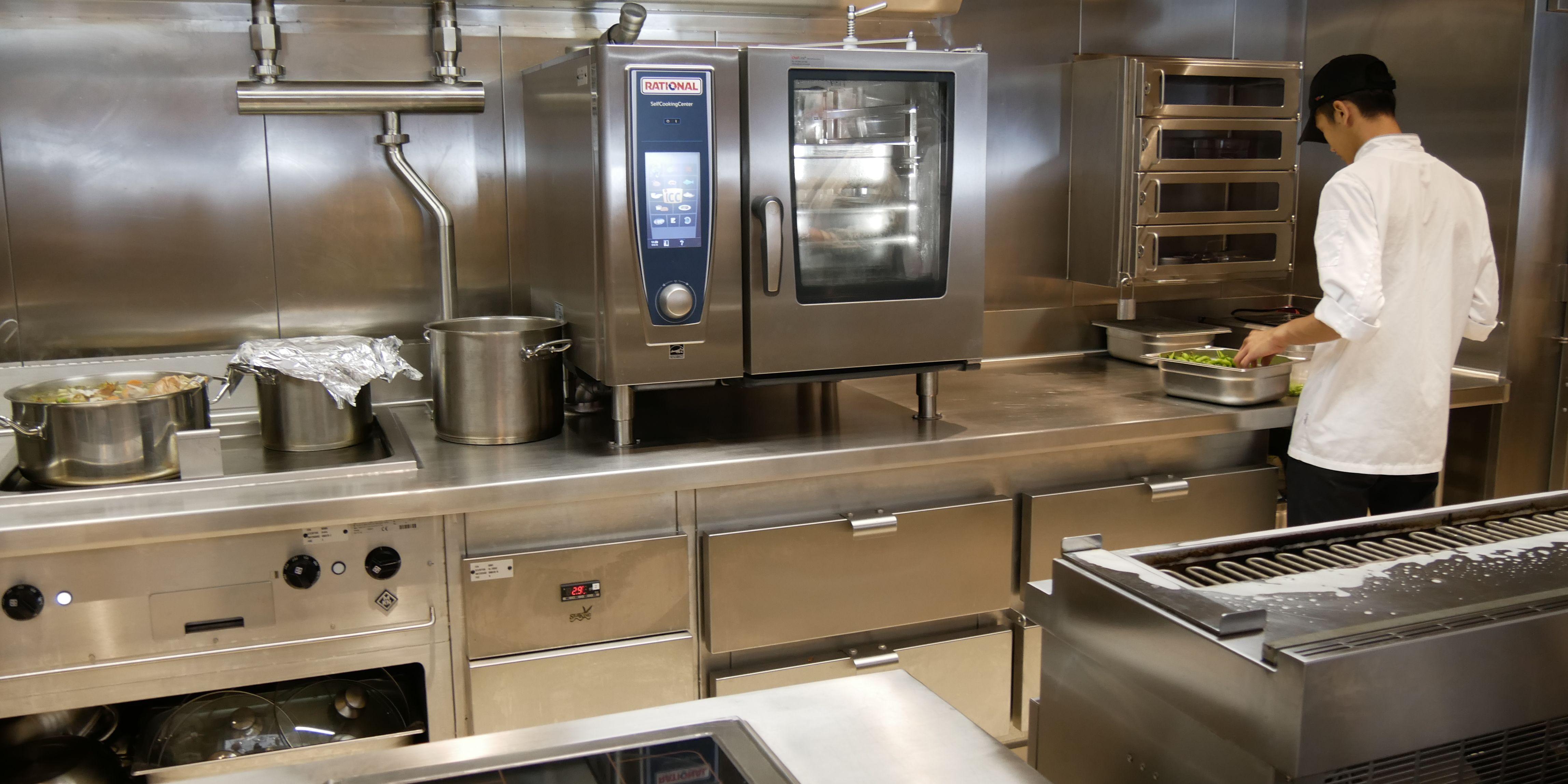 AIDAnova Küche
