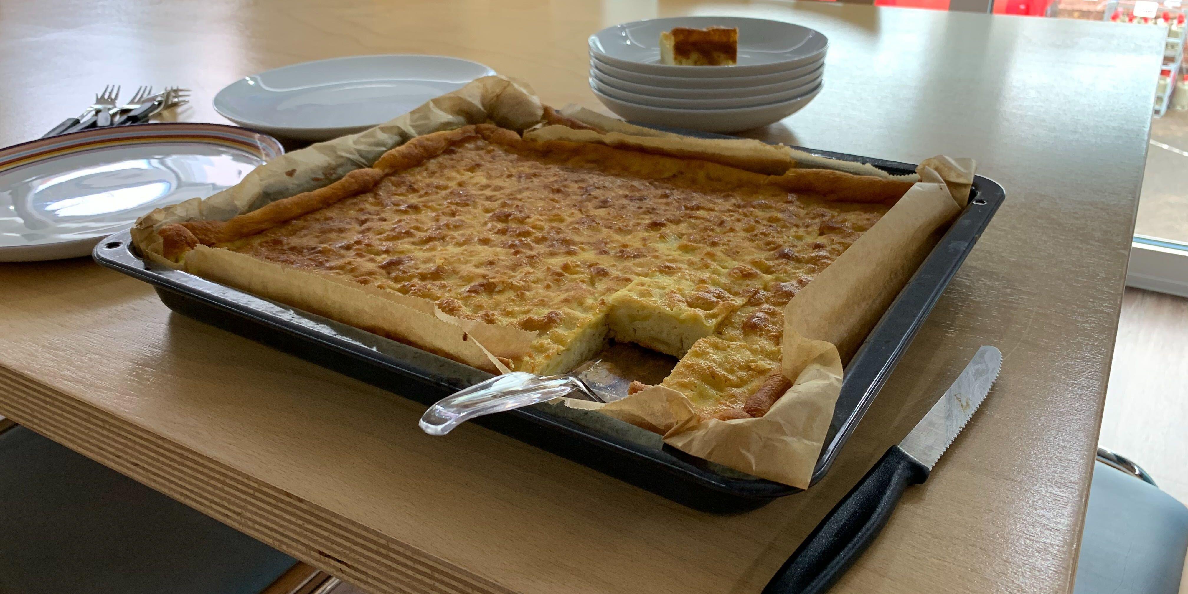 Apfelkuchen von Gregor