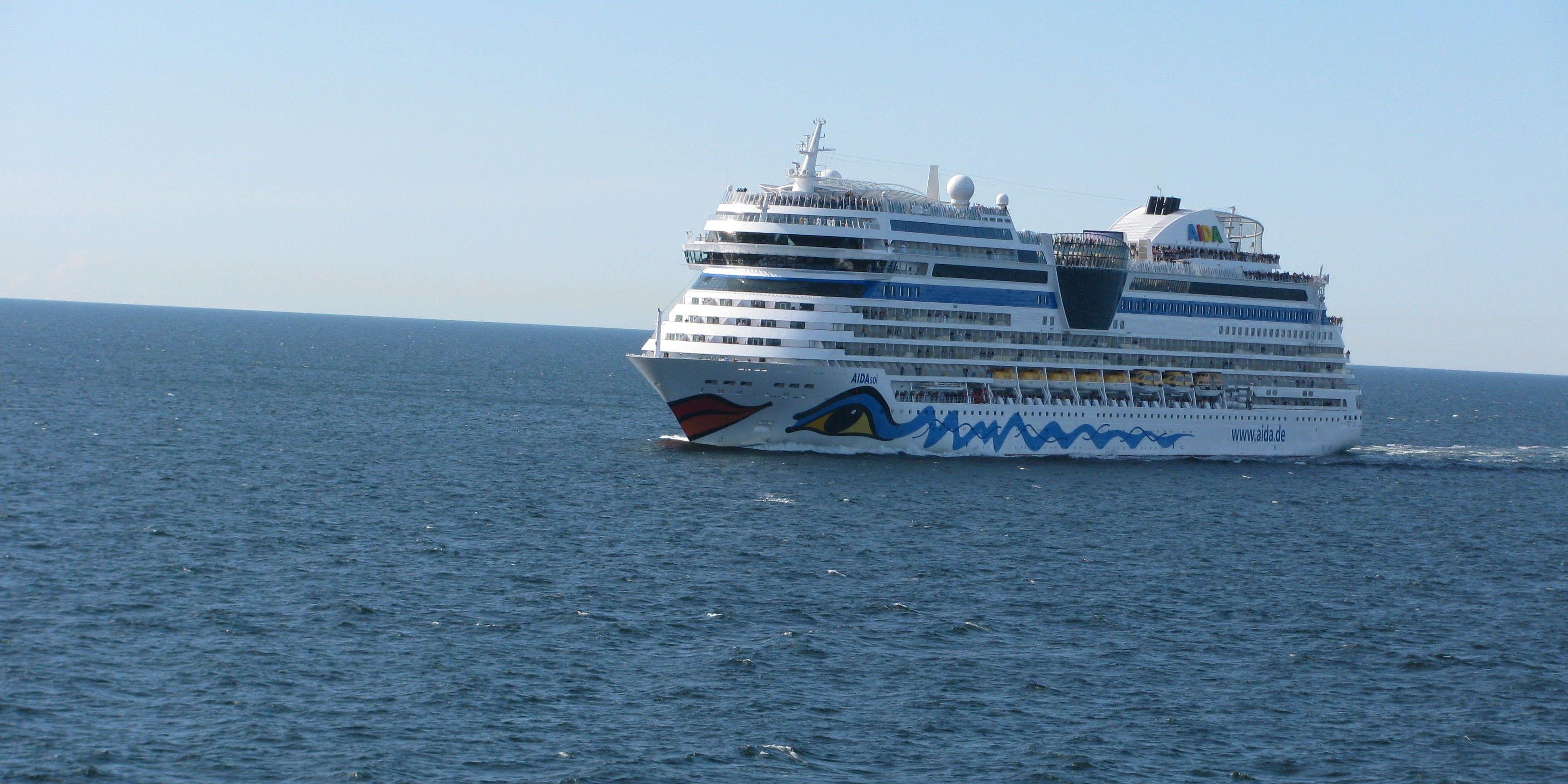 AIDAsol auf See