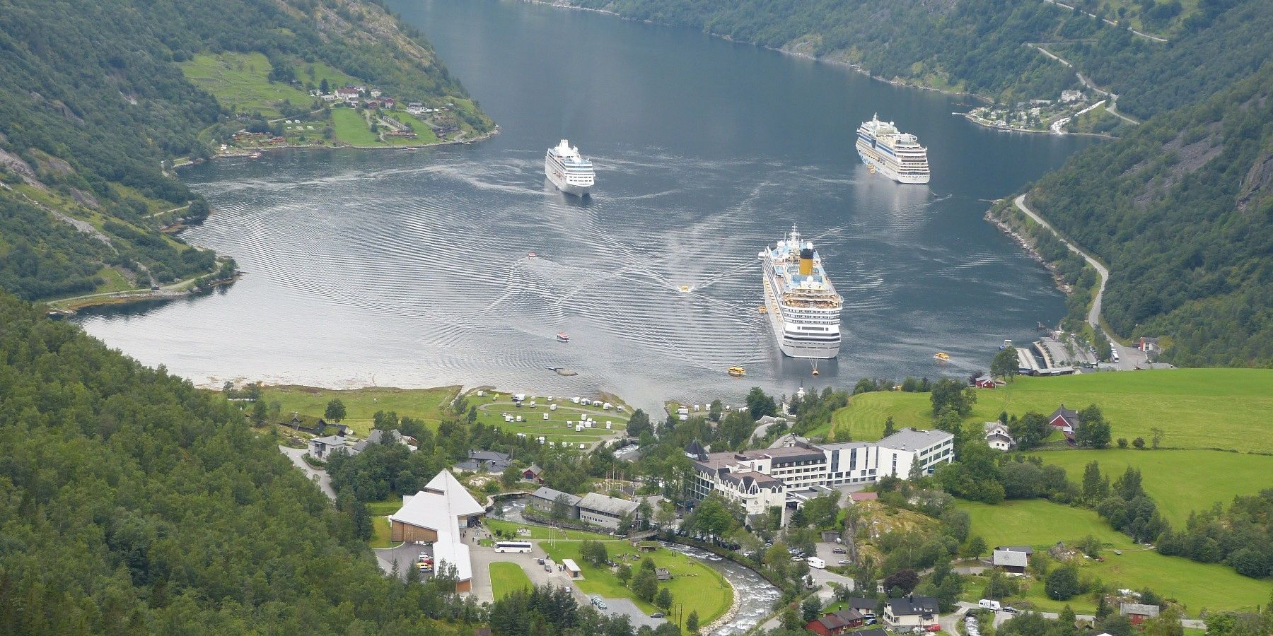 Kreuzfahrtschiffe in Norwegen