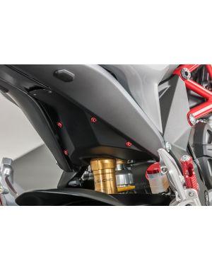 Footpegs for stock passenger rear sets Ducati MV Agusta