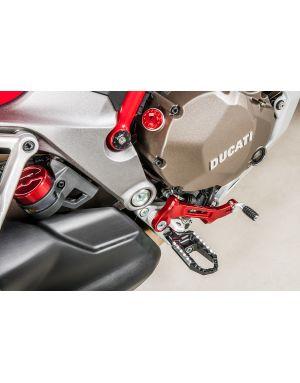 """Pedivelle poggiapiede passeggero """"Easy"""" Ducati Multistrada 1200"""