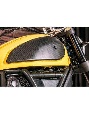 Side cover fuel tank Ducati Scrambler  - matt carbon